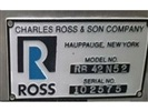 Ross 52 CFT Ribbon Blender