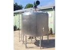 APV Crepaco 1500 Gallon Mix Tank