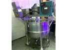 TCC 500 Liter Jacketed Kettle With Scraper Agitator and Temp Recorder